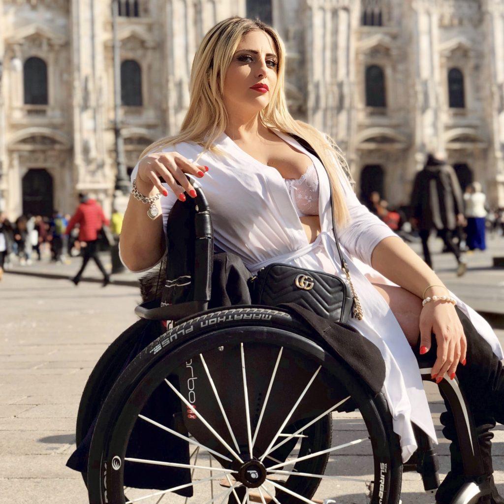 Benedetta De Luca-Heyoka-Flash Mob Milano-Body Positive CatWalk 2019-bellezza universale-festa delle donne-giornata internazionale della donna