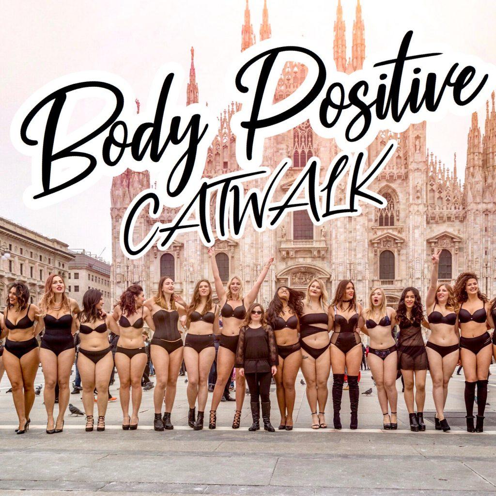 Body Positive CatWalk-modelle curvy-benedetta de luca-nina sophie rima-bellezza universale-heyoka-festa delle donne