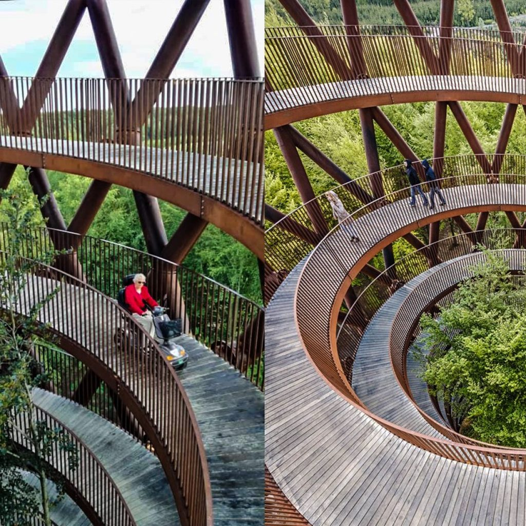 Treetop Experience in Danimarca, Copenaghen, accessibile ai disabili