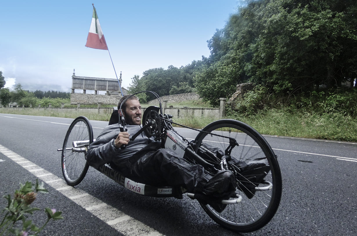 pietro scidurlo intervista heyoka guida disabili